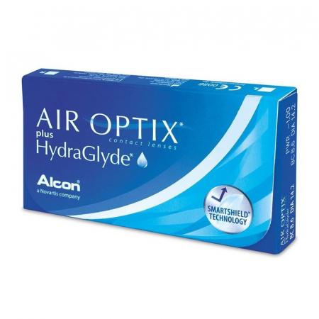 Air Optix Plus Hydraglyde (6 φακοί) Μηνιαίοι