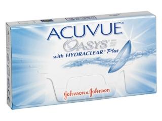 Acuvue Oasys Φακοί Επαφής ΔΕΚΑΠΕΝΘΗΜΕΡΟΙ Johnson & Johnson 3 ζευγάρια